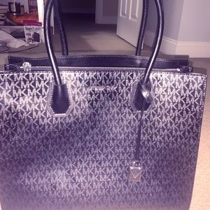 Michael Kors Large Black Tote Bag